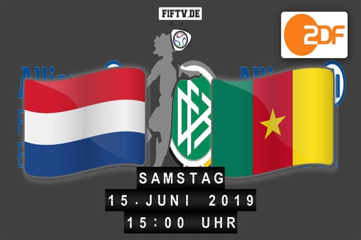 Niederlande - Kamerun Spielankündigung