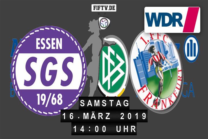 SGS Essen - 1. FFC Frankfurt Spielankündigung
