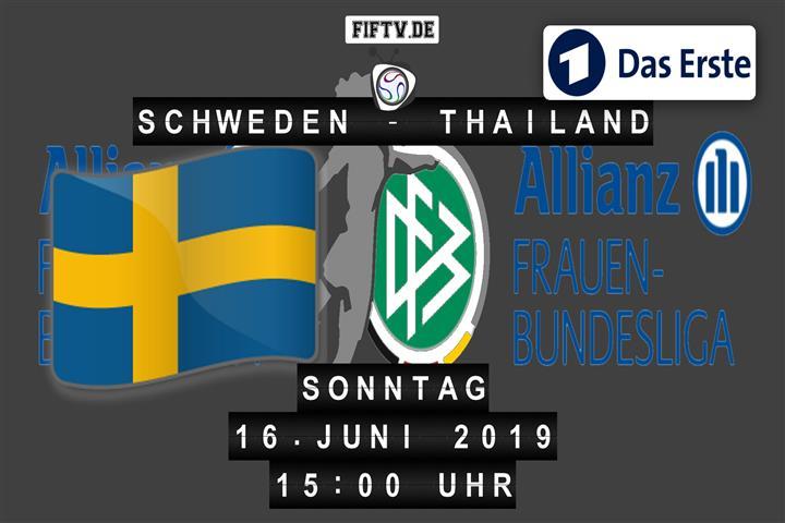 Schweden - Thailand Spielankündigung