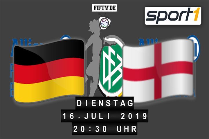 U19: Deutschland - England Spielankündigung