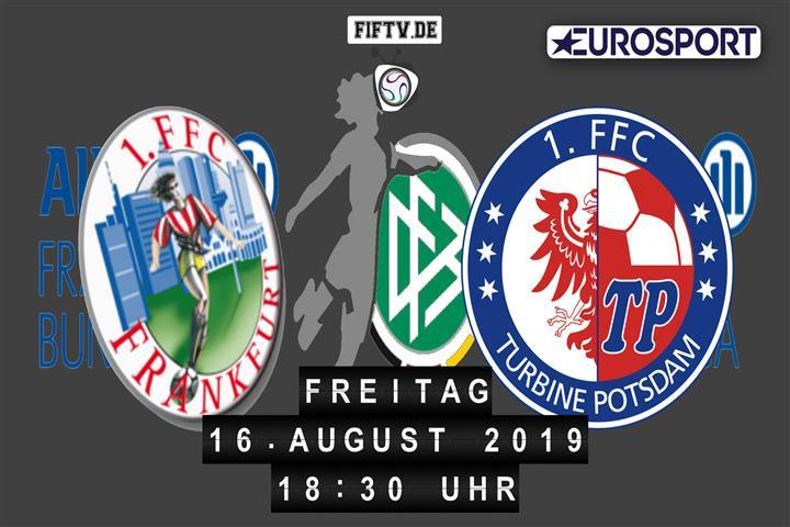 1.FFC Frankfurt - Turbine Potsdam Spielankündigung