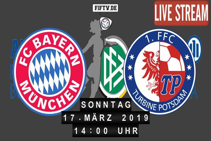 FC Bayern München - 1. FFC Turbine Potsdam Spielankündigung