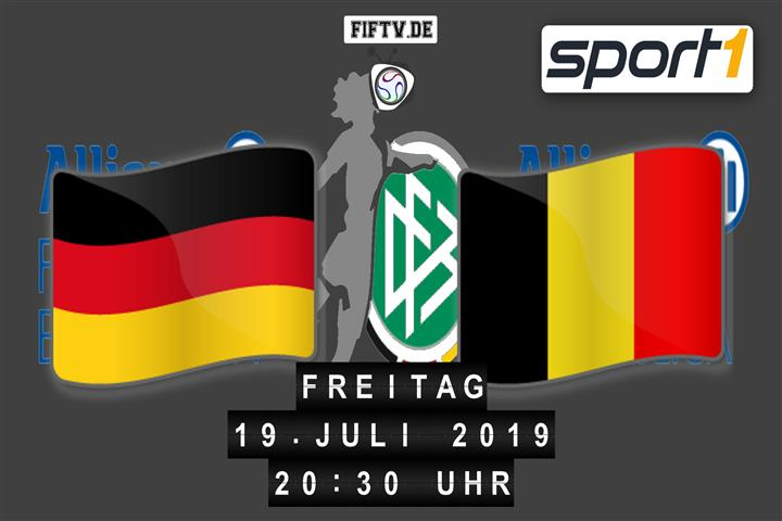 U19: Deutschland - Belgien Spielankündigung