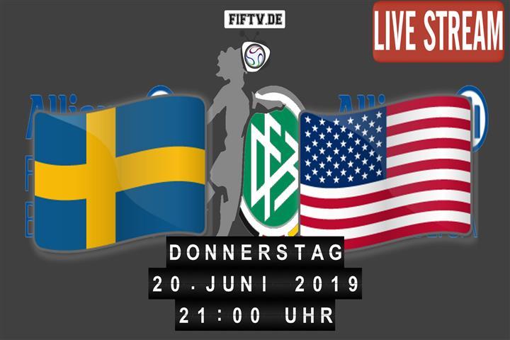 Schweden - USA Spielankündigung