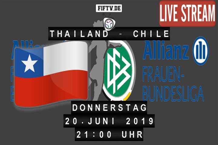 Thailand - Chile Spielankündigung