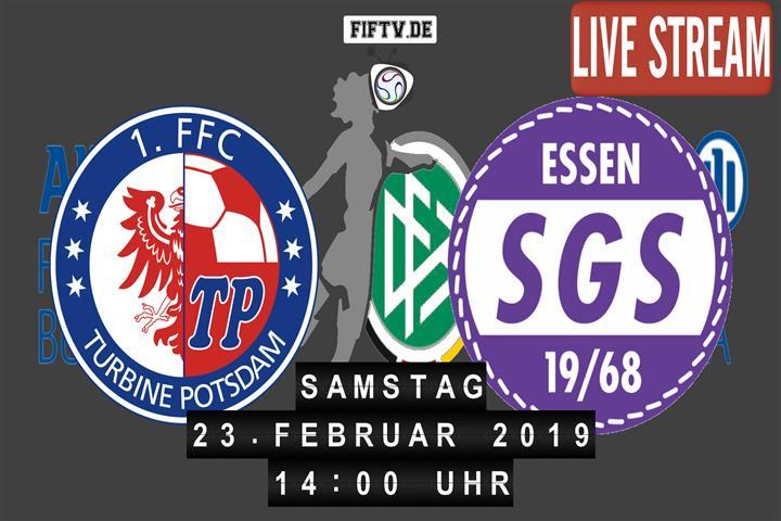 1. FFC Turbine Potsdam - SGS Essen Spielankündigung
