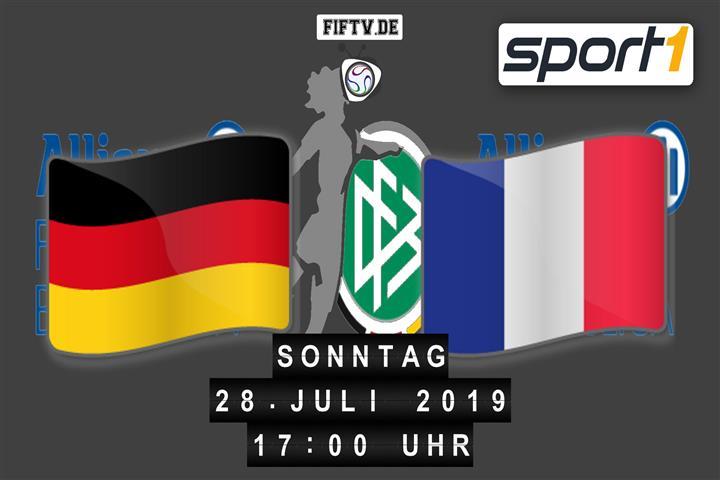 U19 EM Finale: Deutschland - Frankreich Spielankündigung