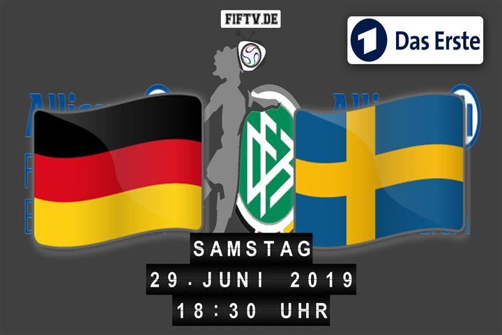 Deutschland - Schweden Spielankündigung