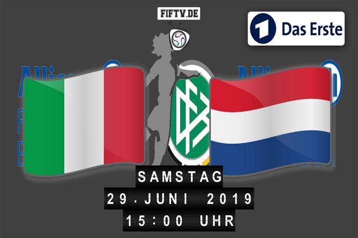 Italien - Niederlande Spielankündigung