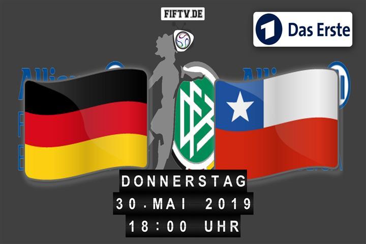 Deutschland - Chile Spielankündigung