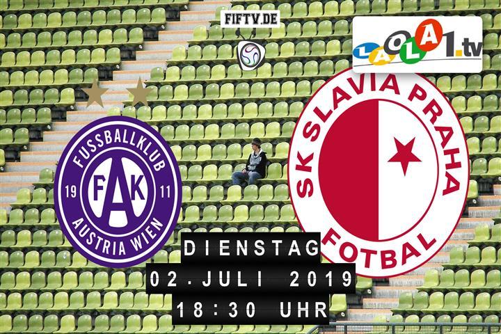Austria Wien - Slavia Prag Spielankündigung