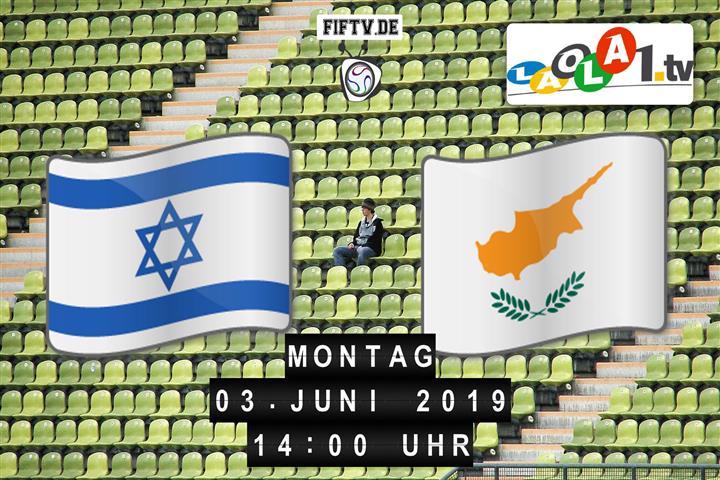 U21: Israel - Zypern Spielankündigung