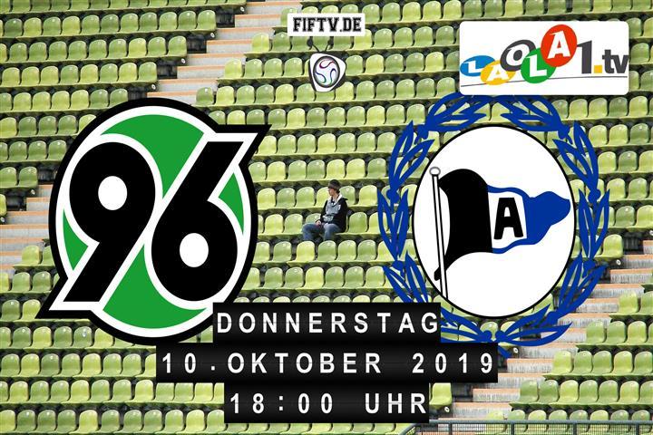 Hannover 96 - Arminia Bielefeld Spielankündigung