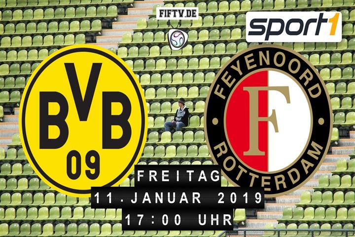 Borussia Dortmund - Feyenoord Rotterdam Spielankündigung