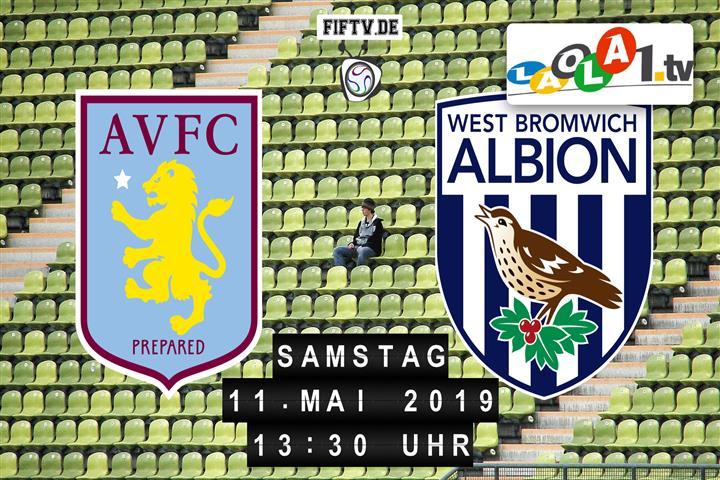 Aston Villa FC - West Bromwich Albion FC Spielankündigung