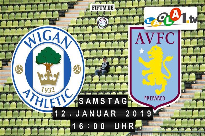 Wigan Athletic FC - Aston Villa FC Spielankündigung