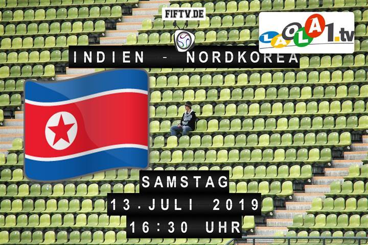 Indien - Nordkorea Spielankündigung