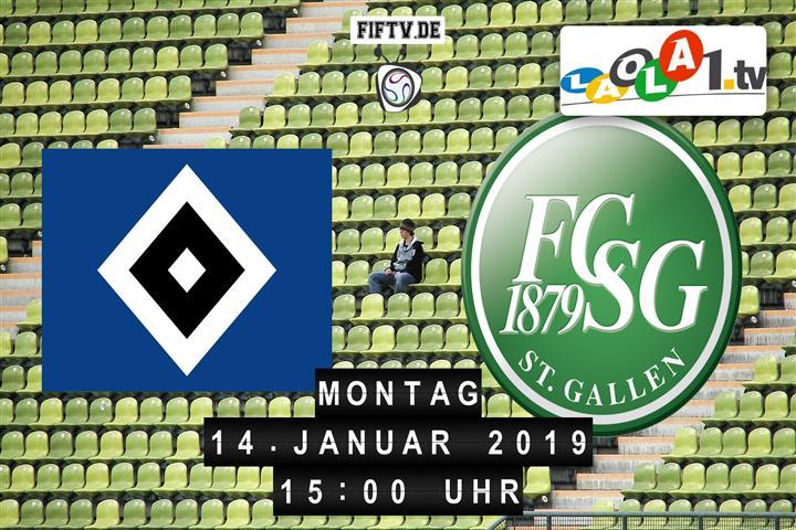 Hamburger SV - FC St. Gallen Spielankündigung