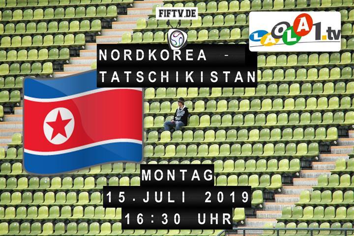Nordkorea - Tatschikistan Spielankündigung