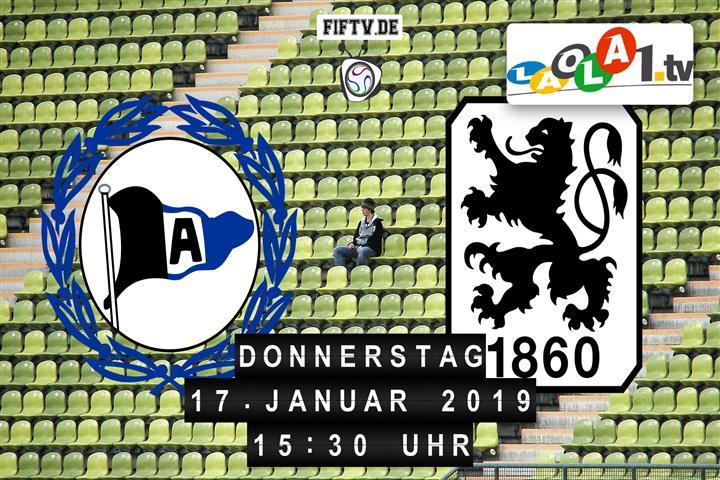Arminia Bielefeld - TSV 1860 München Spielankündigung