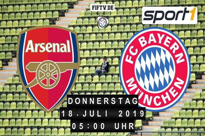 FC Arsenal - FC Bayern München Spielankündigung