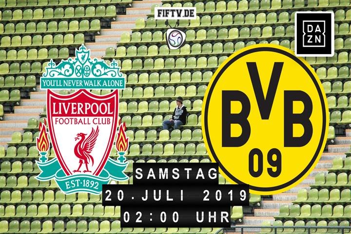 FC Liverpool - Borussia Dortmund Spielankündigung