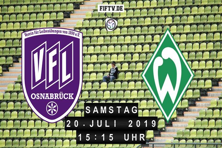 VfL Osnabrück - Werder Bremen Spielankündigung