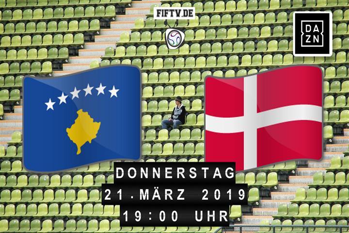 Kosovo - Dänemark Spielankündigung