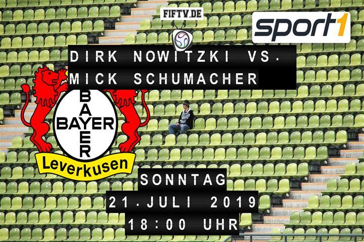 Dirk Nowitzki vs. Mick Schumacher Spielankündigung