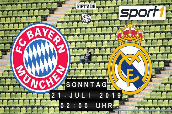 FC Bayern München - Real Madrid Spielankündigung