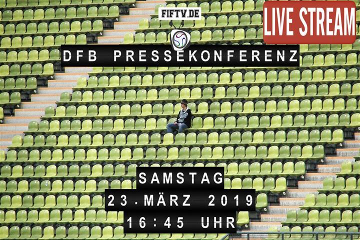 DFB Pressekonferenz Spielankündigung