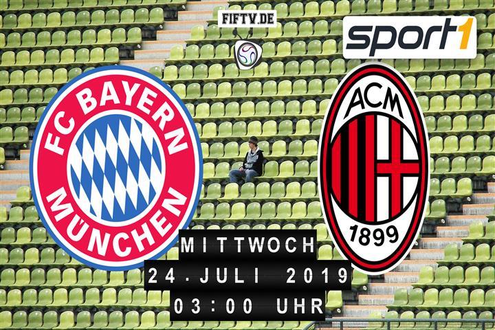 FC Bayern München - AC Mailand Spielankündigung