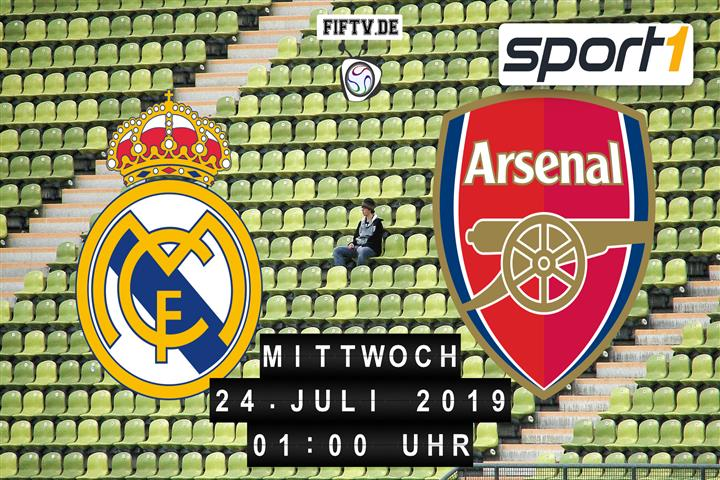 Real Madrid - FC Arsenal Spielankündigung