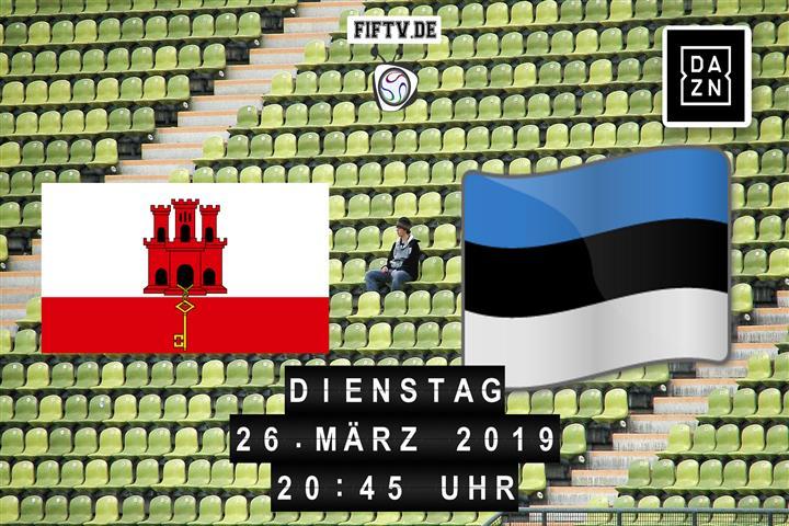 Gibraltar - Estland Spielankündigung