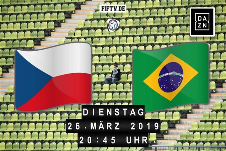 Tschechien - Brasilien Spielankündigung