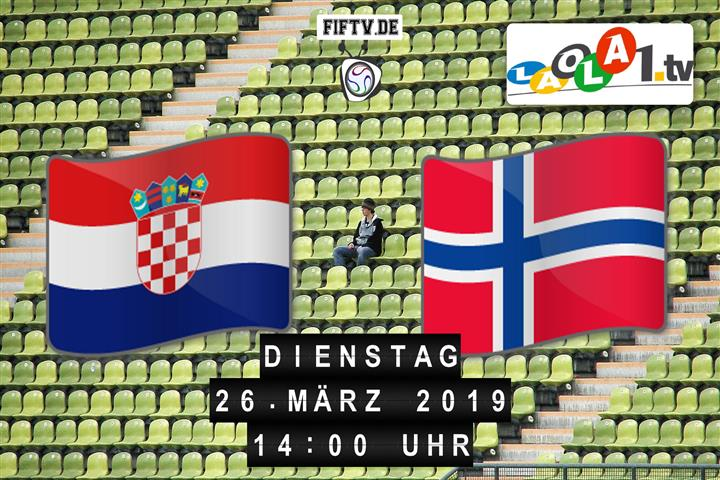 U19: Kroatien - Norwegen Spielankündigung