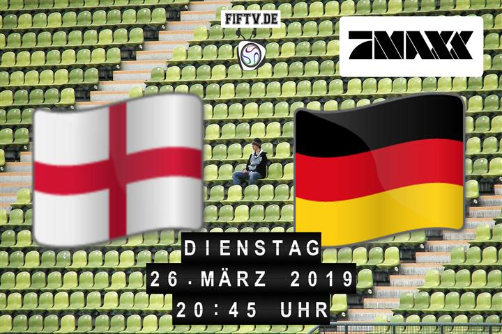 U21: England - Deutschland Spielankündigung