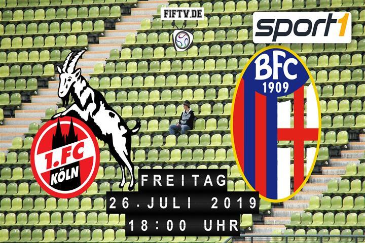1. FC Köln - FC Bologna Spielankündigung