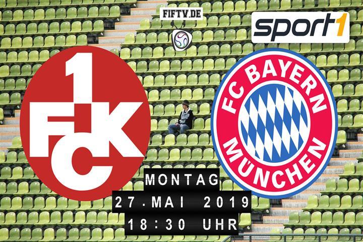 1.FC Kaiserslautern - Bayern München Spielankündigung