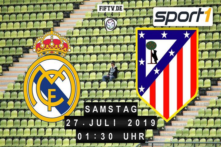 Real Madrid - Atletico Madrid Spielankündigung