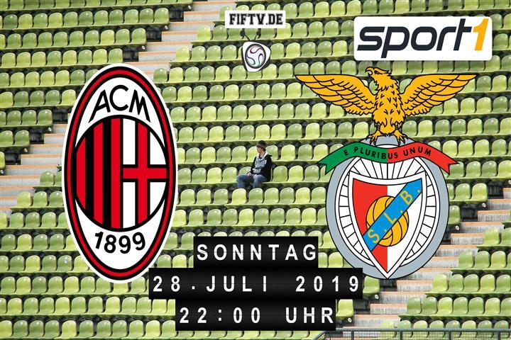 AC Mailand - Benfica Lissabon Spielankündigung
