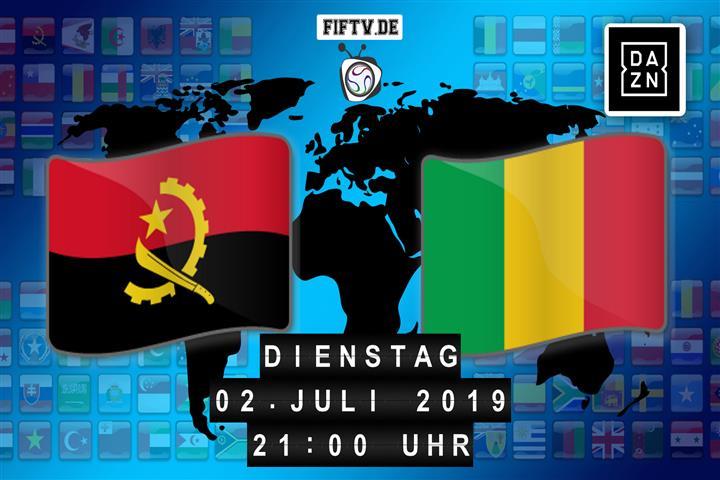 Angola - Mali Spielankündigung