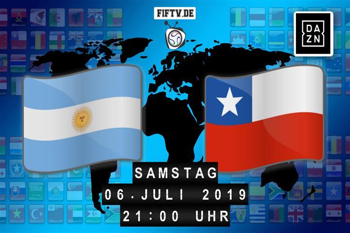 Argentinien - Chile Spielankündigung