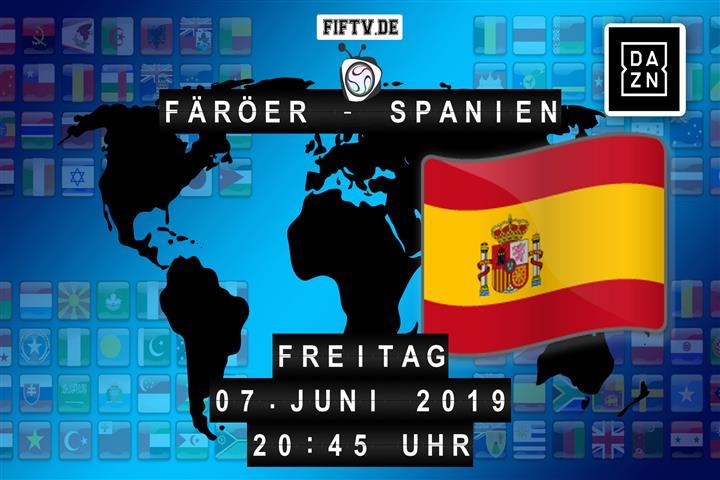 Färöer - Spanien Spielankündigung