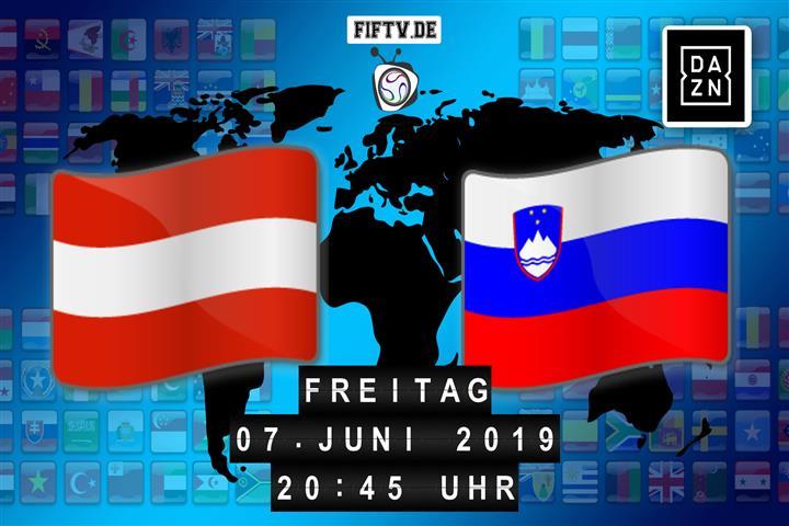 Österreich - Slowenien Spielankündigung