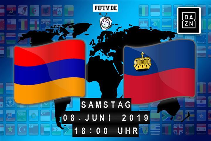 Armenien - Liechtenstein Spielankündigung
