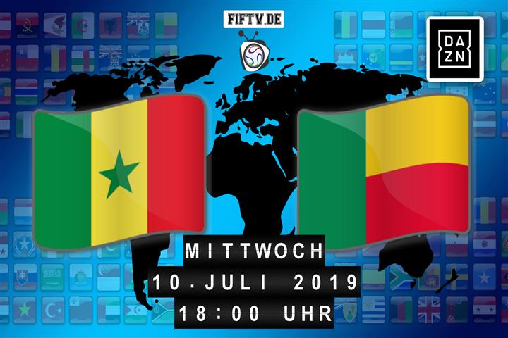 Senegal - Benin Spielankündigung