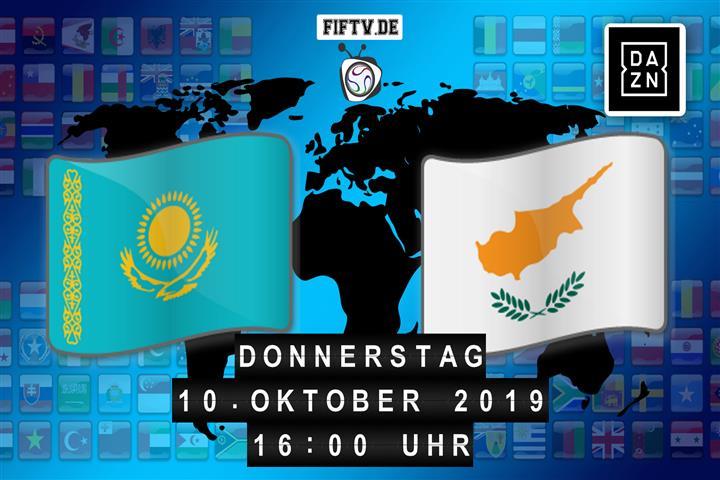 Kasachstan - Zypern Spielankündigung