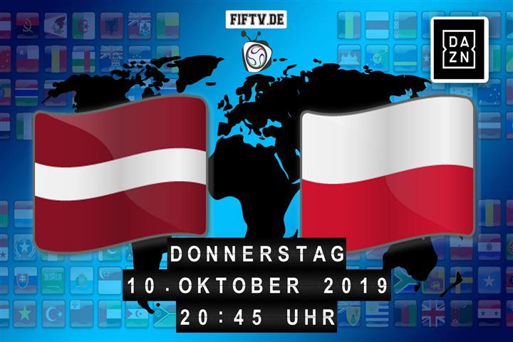 Lettland - Polen Spielankündigung