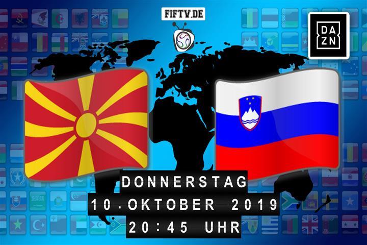 Mazedonien - Slowenien Spielankündigung